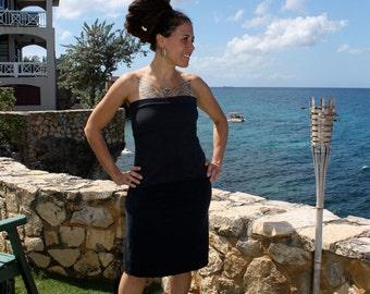 Organic clothing - aline Organic Cotton and hemp skirt handmade Organic Skirts -