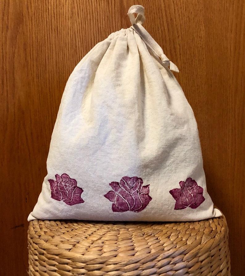 0536f318831 Reusable Bags for Bulk foods Organic Cotton and Hemp Three | Etsy