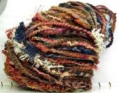 FunctionArt - Desert Garden - HandDyed HandSpun Art Yarn 80 yards 3.4 oz merino wool
