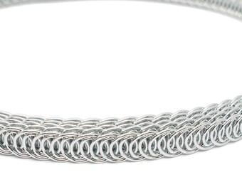 807767b968 Corset Making Shiny Silver Galvanized Spiral Steel Boning - 1 2