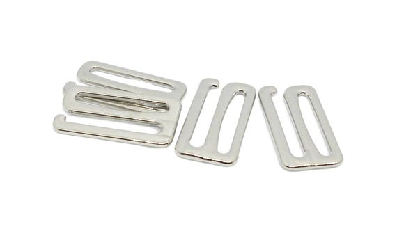 Adjustable Detachable Metal Hook  FREE POSTAGE UK WHITE PATTERN Bra Straps