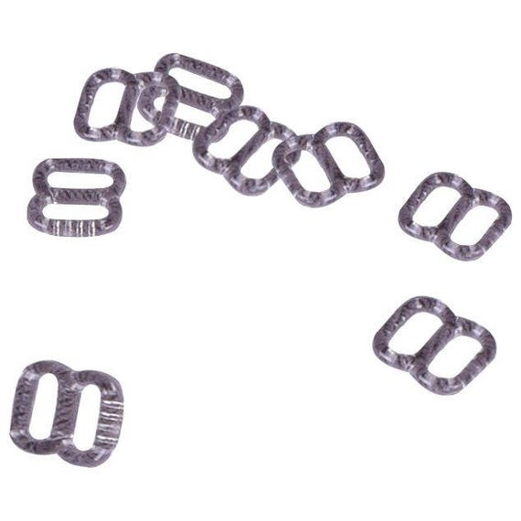 1//2 or 13mm Opening 50 Pairs Porcelynne White Plastic Bra//Headband Replacement Strap Rings