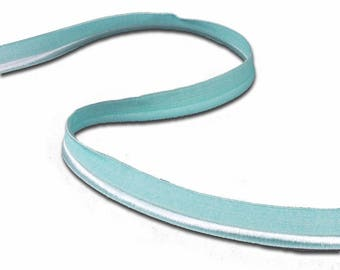 5 yds Light Teal Piping Elastic Stretch Trim (E21BL2-5)