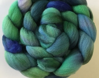 Hand Painted BFL Roving