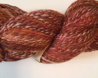 Handspun merino wool yarn