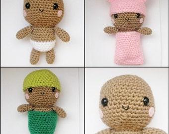Picture Pefect Baby amigurumi crochet pattern - PDF Digital Download