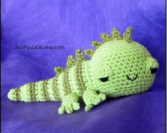 NEW** Amigurumi Iguana crochet pattern -PDF Digital Download