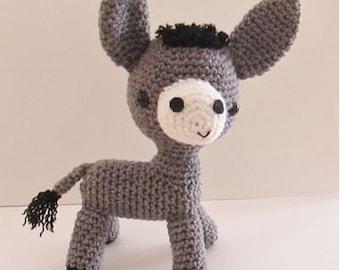 Amigurumi Donkey crochet pattern - PDF Digital Download