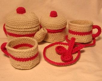 Tea Party Crochet Pattern
