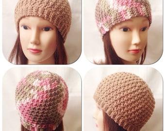 Honeycomb Beanie Crochet Pattern