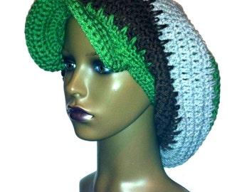 Spiked Rasta Tam Crochet Pattern