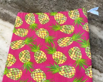 Knitting Project Bag - Pineapple Passion