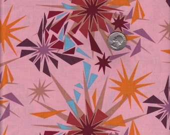 SALE - Half yard - Anna Maria Horner Innocent Crush - Shattered in Punch cotton quilt fabric