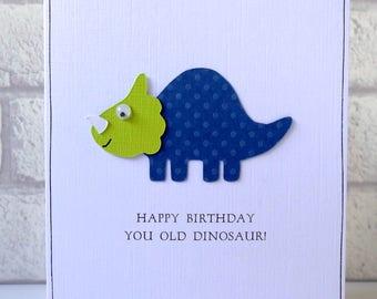 Funny Birthday Card Elephant Birthday Greeting Card Etsy