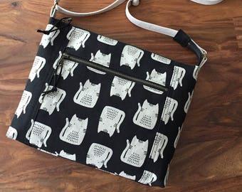 Traverse Crossbody Bag - Kitty Cat - Made to Order