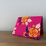 Card Wallet - Yellow Rose Gold Metallic - Gift Card Holder - BESU Handmade