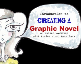 Intro to Graphic Novels ~ A family friendly E-course