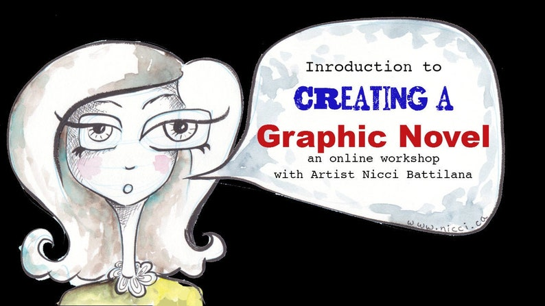 Intro to Graphic Novels  A family friendly E-course image 0