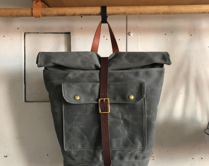 expedition waxed rucksack