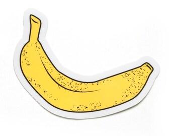 Banana Sticker Etsy