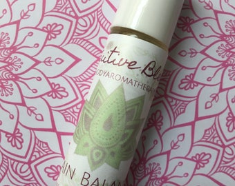 Intuitive Blends Brain Balance Essential Oil Blend Frankincense, Copaiba, DDR Prime, Helichrysum
