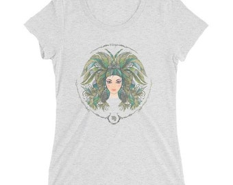 Women's Virgo Astrology Zodiac Short Sleeve T-shirt FREE STANDARD SHIPPING