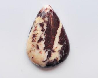 Coconut Jasper cabochon  35x24x6mm
