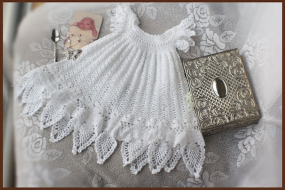 Celestial Crochet Christening Gown Pattern Crochet Baptism Etsy Interesting Crochet Christening Gown Pattern