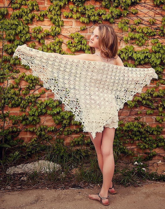 Shawl Of The Moirae Crochet Shawl Wrap Pattern Lace Weight