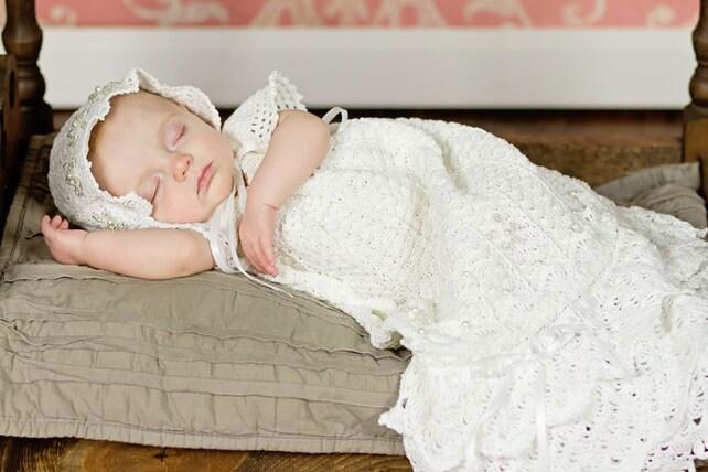 Häkeln Taufe Kleid Muster häkeln Taufe Kleid Muster Segen | Etsy