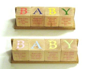 B-A-B-Y Blox with Nursery Rhymes - Pastel or Primary