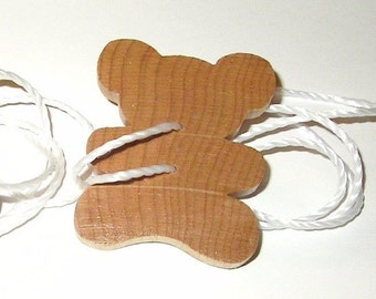 Baby Bear Spin Toy - Natural Sealed