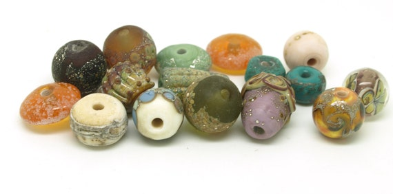 Autumnal Orphan Bead Collection