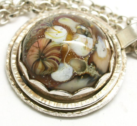 Rockpool Cabochon Necklace.