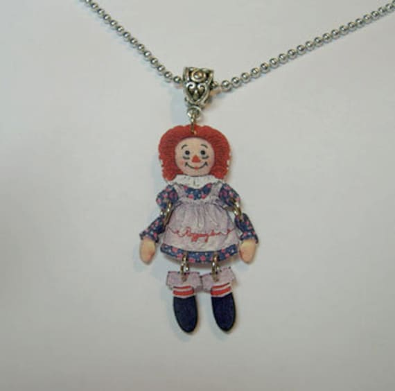 Raggedy Ann Jewelry Earrings Stud Ear Rings Post Collectibles Gifts For Her