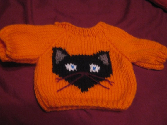 Jewish Dreidel Hanukkah Sweater Handmade for 18 inch Build A Bear Made in USA