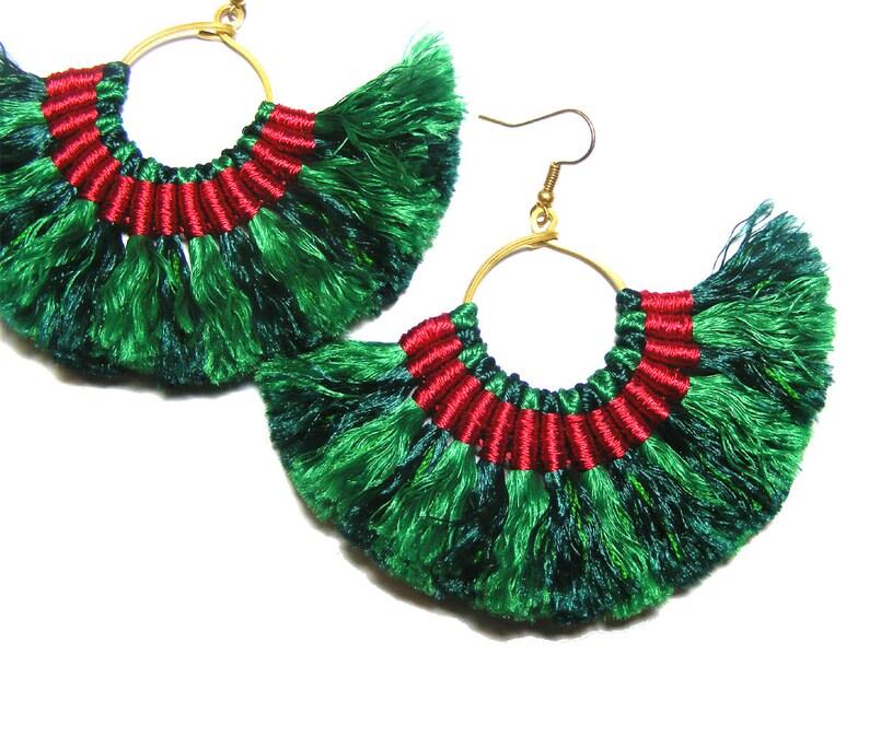 f125a67d5 Christmas Earrings   Etsy