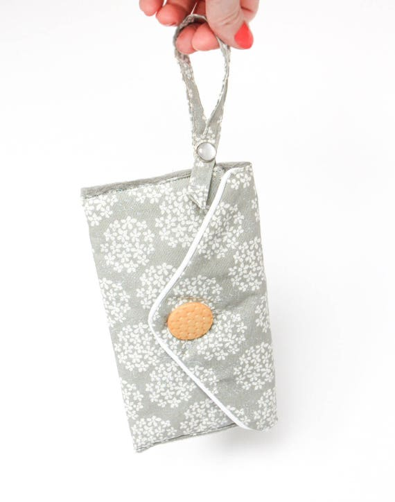 Gray Clutch Cute Retro Phone Bag Gift For Her Under 20 Mom