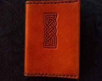 Celtic Leather Pocket Journal Yet another Pict style border link