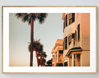 Charleston Art, South Carolina Print, Charleston Sunrise #2, Charleston Photograph, Architecture Photo, Oversized Wall Art, City Print, Bock