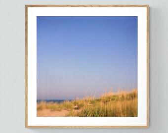 Beach Print, Nature Photography, Sun Coast, Coastal Art, Beach Art, Summer Print, Fine Art, Lake Michigan Art, Beach Photo, Michigan Photo