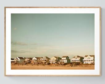 Outer Banks Print, Beach Photograph, Outer Banks Living, Coastal Print, Beach Art, Seaside Decor, Beach Decor, Beach Print, Oversized Art