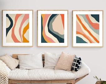 Print Sale, Discounted Print Set, Save 15%, Minimal Art, Modern Art, Abstract Wall Art, Oversized Wall Decor, Abstract Print, Minimal Print