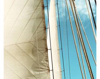 Photograph - Boat Art - Trade Winds - Landscape Photograph - Ocean Art - Sailboat Print - Fine Art Photograph - Alicia Bock - Oversized Art