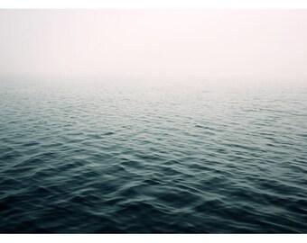 Fine Art Photograph - Nature Photograph - Ocean Art - Summer Print - Lost In The Fog - Beach Photograph - Home Decor - Nautical Decor