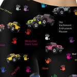 Jeep Leggings Off Road 4x4 Jeep High Waist   Jeeps   - Jeep Wave - Jeep Life - Jeep Pants - Stacked Jeep Print - Ready to Ship