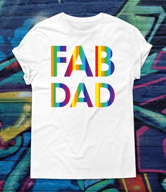 8941182ba9d Gay Pride Dad T-shirt Fathers Day Tshirt Gay dad shirt
