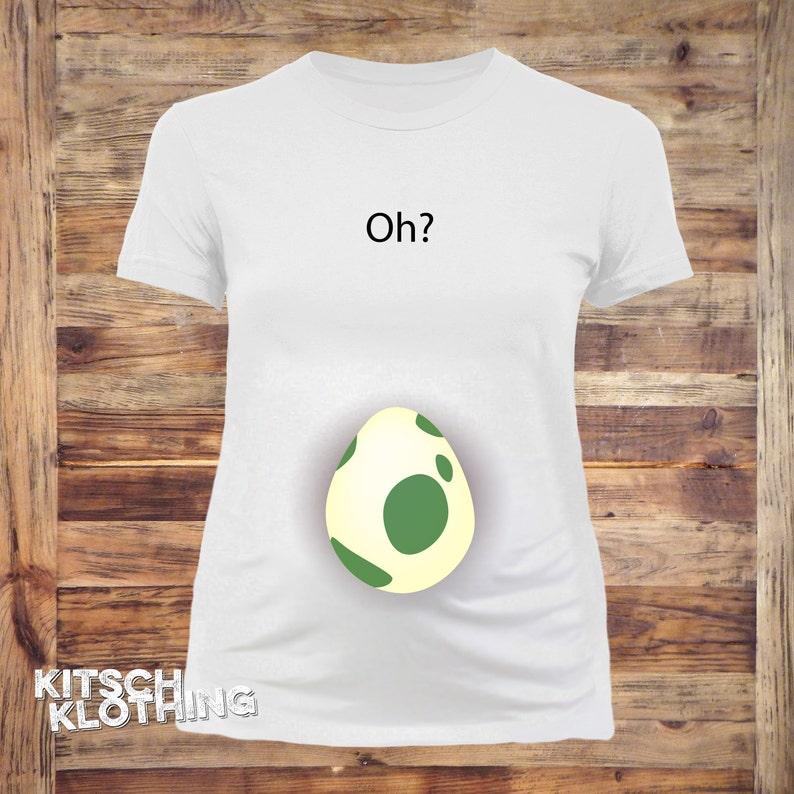 1df0a471 Pokemon Egg Maternity Shirt Pokemon Go Shirt Funny | Etsy