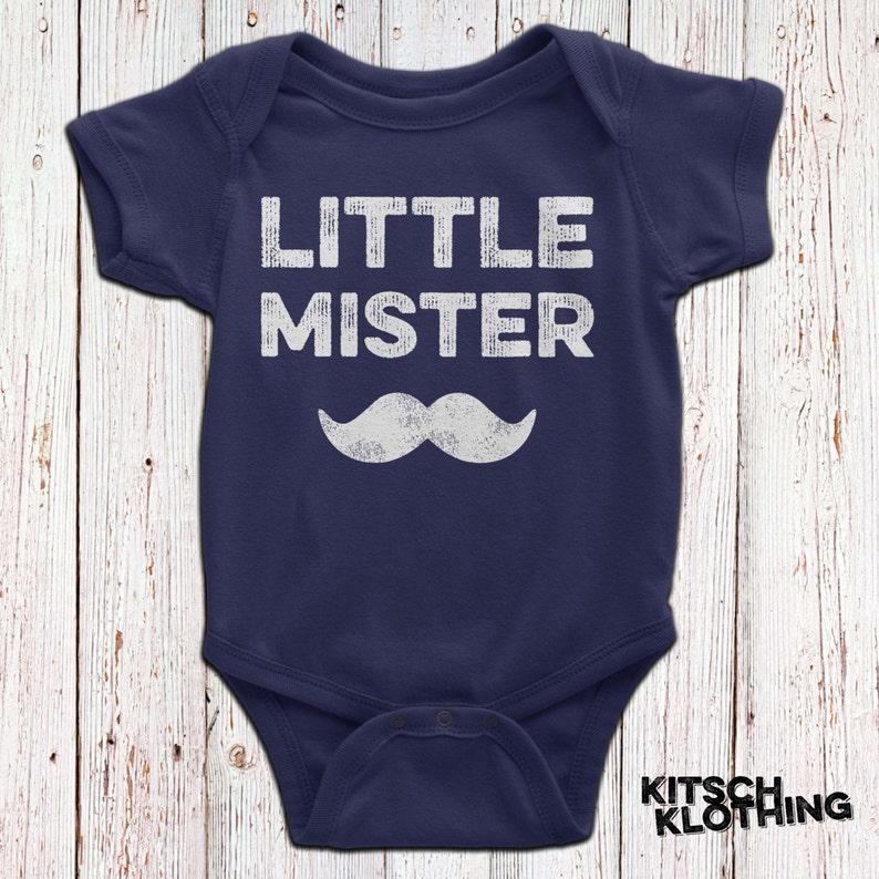 f3fffec8b Poco Mister bigote bigote Body Pañalero Matching padre hijo | Etsy
