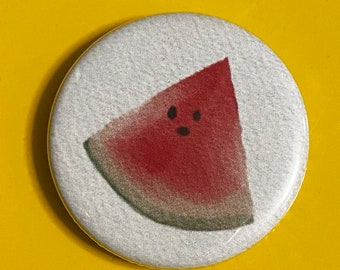 """1.25"""" Button - Watermelon (pack of 10)"""